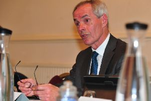 'Open minded' on Harrogate and Knaresborough traffic congestion problems - Coun Don Mackenzie, the county councils executive member for highways and passenger transport.