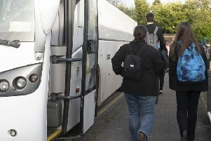 Increased charges for home-to-school transport for students in post-16 education have been agreed.
