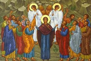 Icons of the Ascension.