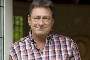 Coming to Harrogate - Gardening legend Alan Titchmarsh.