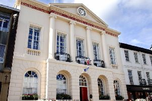 Ripon City Council has withheld rent payments to Harrogate Borough Council as a bargaining chip for negotiation in a tense stand-off over the lease of Ripon Town Hall.