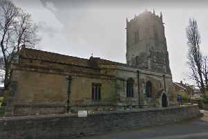 Mollie Wright's funeral was held at All Saints Church, South Kirkby, yesterday.