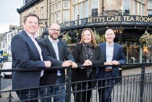 Moved by public response to Bettys' 100th birthday - Managing director Simon Eyles.