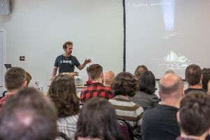 Tech talks: The festival will offer a series of inspiring talks. Photo: Craig Shaw photography.
