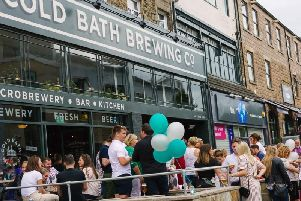 Aiming to raise awareness to reduce the number of young people who take their own lives - The Ostrich Beer Launch Party for charity at Cold Bath Brewing Co in Harrogate.