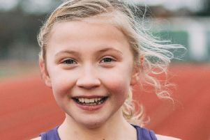 Ten-year-old Harrogate girl Rosie Ford who is running for GB in the World Transplant Games