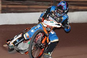 Sheffield Tigers' Jack Smith: pic by Andy Garner