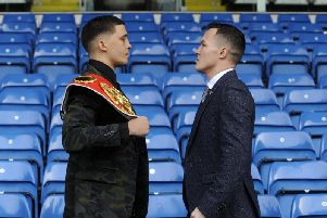 Leeds-born Josh Warrington will attempt to take the IBF World Featherweight title from Lee Selby at Elland Road on Saturday 19 May and become the city's first boxing world champion