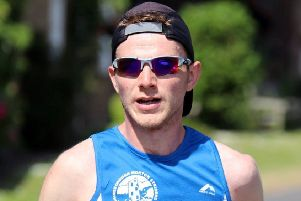 Striders' James Croft, who ran a remarkable race in the Great North Run at the weekend.