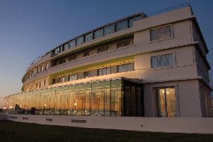 The Midland Hotel in Morecambe
