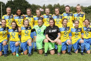 The current Doncaster Rovers Belles squad