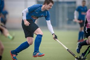 Andrew Clemerson was among the goals as Harrogate Mens 1s beat Bowdon in Saturday's top-of-the-table clash. Picture: Caught Light Photography