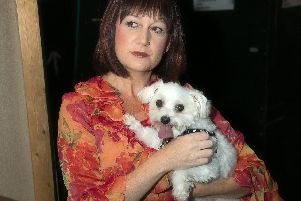 Keeley Kilby and Milo in the STOS production of musical Gypsy, coming to the Lyceum, Sheffield