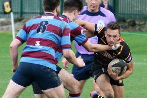Ned Rutty scored the only try of the game as Harrogate Pythons saw off Skipton.