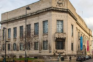 The Central Library and Graves Art Gallery in Sheffield