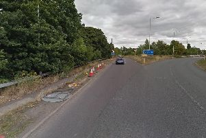 Junction 31 of the M1 motorway at Aston. Picture: Google.