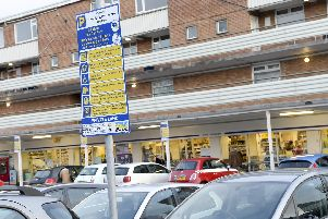 The Berkeley Centre on Ecclesall Road in Sheffield where parking charges have been introduced.