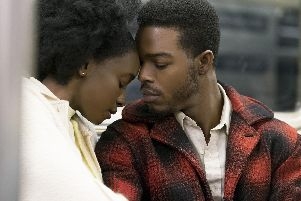 Undated film still handout from If Beale Street Could Talk. Pictured: KiKi Layne as Tish Rivers and Stephan James as Fonny Hunt. See PA Feature SHOWBIZ Film Digest. Picture credit should read: PA Photo/Annapurna Releasing, LLC/Tatum Mangus. All Rights Reserved. WARNING: This picture must only be used to accompany PA Feature SHOWBIZ Film Digest.