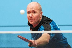 Mark Short, five times Sheffield Table Tennis champion