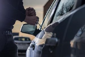 There were a total of 104 reports of car crime in the Pontefract area in December 2018