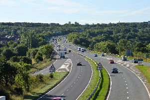 The A19 in Sunderland.
