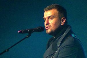 Reverend and the Makers front man Jon McClure (pic: Graham Walker)