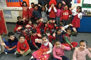 The Ladybirds class at Reedley