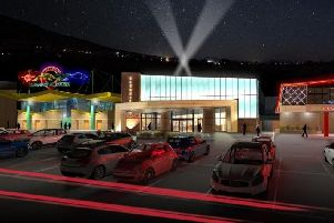 What the new 5 million banqueting and conference suite at Owlerton Stadium will look like.