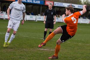 James Hurtley scored a late second for Brighouse