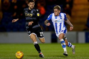 Sammie Szmodics, right, could be set for a move to Derby County. (Photo by Jordan Mansfield/Getty Images)