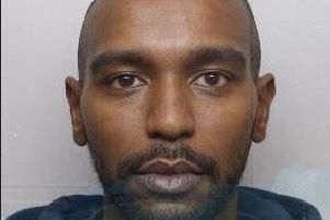 The 30-year-old is wanted over the murder of 21-year-old Kavan Brissett who was stabbed in an alleyway off Langsett Walk, Upperthorpe, Sheffield, and died four days later. Quote incident 827 of August 14, 2018.