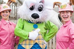 Disaster has struck the Easter Bunnys Egg Factory - the egg machine has exploded and has lost its cogs. Eggs have been thrown all over Cannon Hall Farm - can you help the bunnies to save Easter? Join thisunique Easter Egg Hunt from April 13-22.