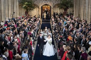 Princess Eugenie got married in a church last year, but religious weddings are not a favourite in the resort.