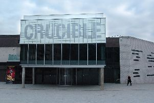 The Crucible Theatre, Sheffield.