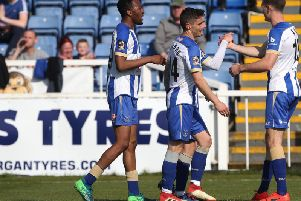 Hartlepool United enjoyed success on a big day in the National League