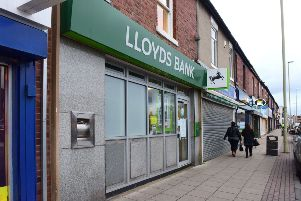 The former Lloyds Brank branch at The Nook
