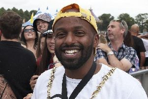 Magid Magid, who is standing for the Green party in the European elections