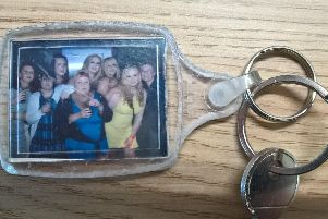 One of the keyrings.