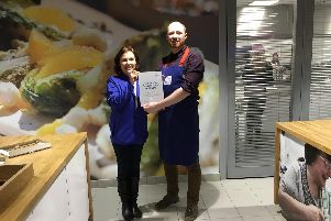 Stephan Moss, (pictured), a community cook from Impact Living in Sheffield has learned how to make the most of surplus food donations and minimise food waste after taking part in the Tesco Community Cookery School with Jamie Oliver.