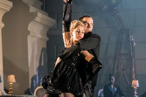 Matthew Bourne's SWAN LAKE. Will Bozier 'The Stranger' and Freya Field as The Girlfriend