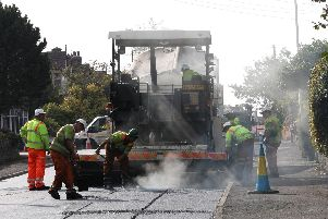 Sheffield Council said Amey had resurfaced around 65 per cent of the city's roads in the first five years