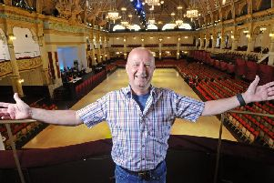 Richard Searling in the Winter Gardens, home to the Blackpool International Soul Festival