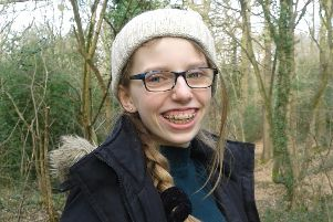Laurie Guymer, aged 13, was practicing aerial cartwheels at her local gymnastics club in Sheffield when a mis-timed run-up led to her falling on her arm and breaking it. She received care at the Emergency Department at Sheffield Childrens Hospital.