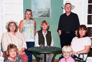 The cast of Entertaining Angels