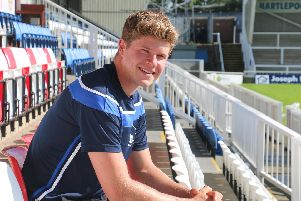 Ben Killip is keen to impress in goal for Hartlepool United ahead of the new season.