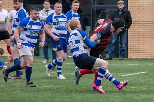 South Shields go on the attack against West Hartlepool on Saturday.