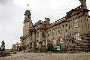 South Shields Town Hall.