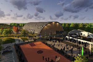 How the arena on the Olympic Legacy Park could look