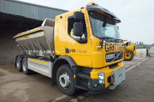 The county council's gritters are poised and ready for the winter to come