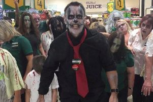 Thriller night at the South Tyneside Supermarket. Picture: Jarrow Morrisons.